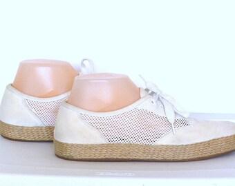 Vintage Easy Spirit Mesh White Sneakers Size 8B
