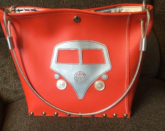 Volkswagen Bus Industrial Handbag made to order