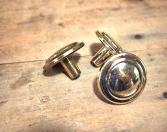 Free Shipping  three Brass drawer pulls knobs pull knob