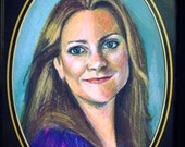 """5"""" X 7"""" miniature portraits in gouache & watercolor, custom made with your photo"""