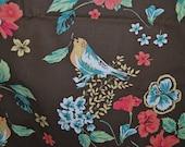 BLOSSOM Urban Chiks Pattern 31017 Heirloom Nest OOP brown with birds