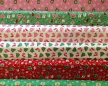 Little Joys Christmas Fabric - By Elea Lutz - For Penny Rose Fabrics - Set Of 9 Fat Quarters - 22.50 Dollars