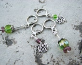 Celtic Thistle Non-Snag Stitch Markers