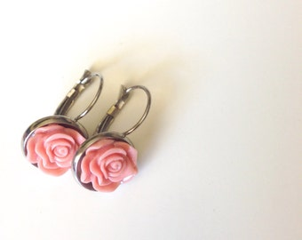 Antique Pink Dangles