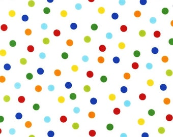 Ann Kelle, Remix Dots in Primary, polka dots, 1 YARD