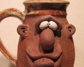 Happy  Tongue Out  Mug ........                              e757