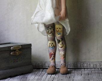 Puppy Blythe Doll Stockings