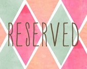 Reserved for KKV123