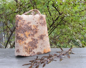 Large Perfectly Rusted Vintage Cowbell - Rustic Decor - Farmhouse Style