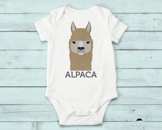 Alpaca - onesie, baby girl, baby boy, baby gift, baby girl clothes, baby boy clothes, baby onesie, onesies, cute onesies, infant bodysuit