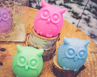 Owl Soap, Owl Party Favor, Owl Birthday, It's a Hoot, Owl Shower, Owl Party, Soap Favor, 1st Birthday, Woodland Wedding, Outdoor Wedding