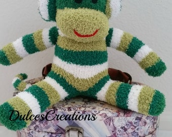 Lucas the sock monkey ready to ship