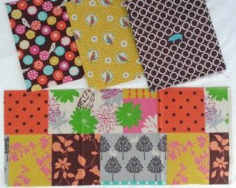 Echino Fabric by Estuko Furuya - 4 Fat Eighths - Bundle 5