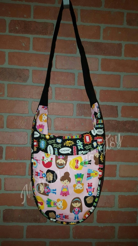 Super Girls Sidekick Tula Large diaper sling bag