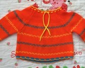 70s Baby Sweater 9/12 Months