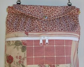 Small Project Knitting/Crochet Tote Bag-PATCHWORK ROSE