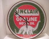 Sinclair Motor Oil Clock