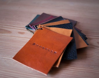 Leather Color Swatches / Leather Samples