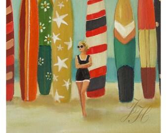 Sea Queen. Art Print