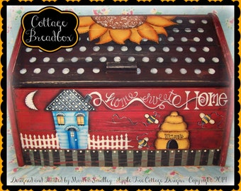Apple Tree Cottage Original Design E Pattern - Breadbox