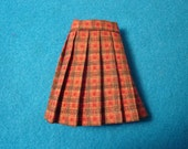 Blythe Fall Plaid Pleated Skirt--Pullp and Vintage Skipper too!!