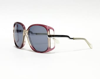 Vintage Oversize Extraordinary Sunglasses by NEOSTYLE - model Mondial 50 , Rare German eyewear, vintage eyeglass in new old stock condition.