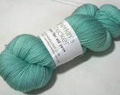 hand dyed yarn - Shimmer Silk Lace - Just Swimmingly colorway