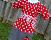 Valentine's Lady Bug Dress