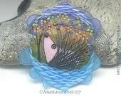 EVENING...handmade lampwork bead by Anastasia...SRA...OOAK...