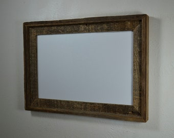 11x17 wood frame great for that favorite old or new poster