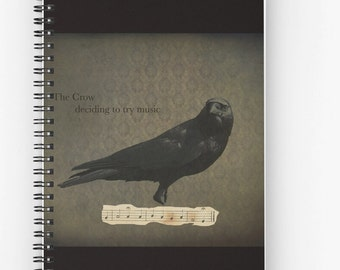 Black Crow, Cards, Notebook, Tote Bag, Drawstring Bag, Gothic, Choose your item