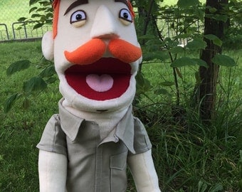 Custom 'Muppet' Style Puppet (With Costume and/or Accessories)
