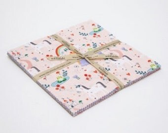SALE 10 inch squares Stackers PRINCESS DREAMS fabric by Riley Blake Designs