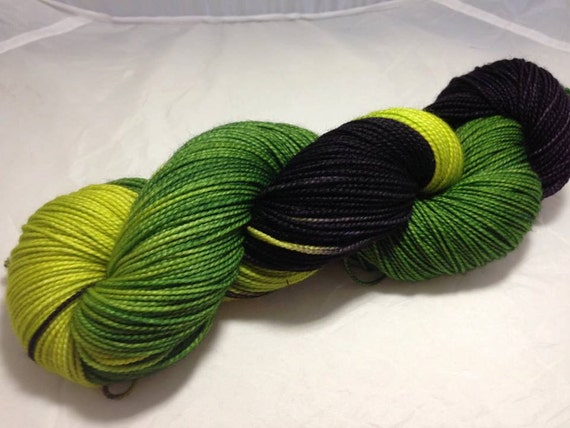 The Forest Heals - Dyed to Order - Hand Dyed - Merino Wool Yarn - Fingering Weight