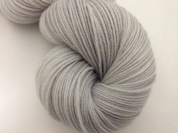 Misty Morning - Dyed to Order - Hand Dyed - Merino Wool Yarn - Fingering Weight