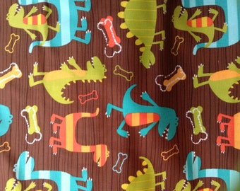 Dino Dudes Reversible Shopping Cart Cover - Fits ALL Carts