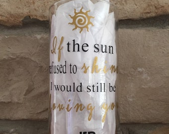 Thank You Led Zepplin lyrics glass vase