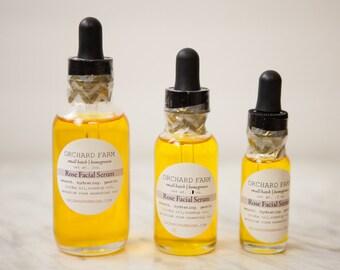 Rose Facial Serum//Natural Skin Cleanse//Anti Aging Skin Care
