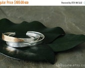 Valentines Day Sale Bronze and Silver Leaf Cuff | Bronze and Silver Cuff  | Nature Inspired