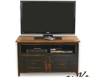 on sale tall tuscan 48 inch tv stand for home by shakastudios. Black Bedroom Furniture Sets. Home Design Ideas