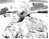 Chicago Cubs Kris Bryant - Original Illustration