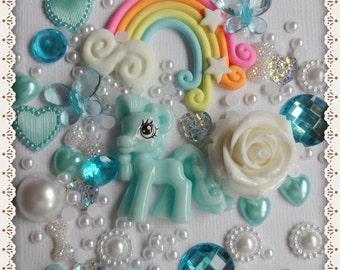Decoden Kit -  Little Blue Pony