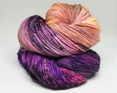 Dyed to order Hand Dyed Yarn - Toxic Orchid