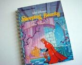Sleeping Beauty Notebook / Little Golden Book Notebook / Recycled Book Journal