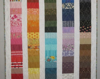 COIN PARADE Ready to Ship from Quilts by Elena featuring 123 different fabrics