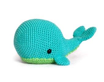 Crochet Pattern whale amigurumi PDF