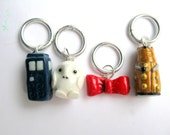 Dr. Who stitch markers