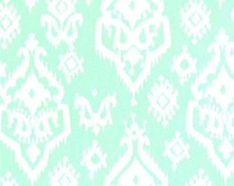 Mint Green Fabric - Premier Prints Home Decorating Fabric - Raji Mint - Cotton Twill Fabric - One Yard - Green Fabric - Clearance Fabric