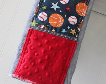 Baby-Burp-Cloth-Personalized-Cloths-Boys-Burps-All-Sport-Blue-Red-Modern-Stylish-Drool-Towels-Diaper-Shower-Nursery-Newborn-Essentials-Gifts