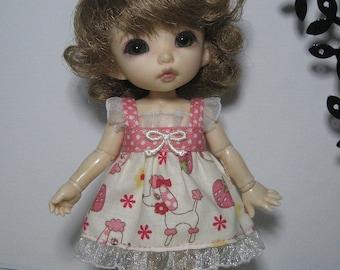 Poodle Dress for Lati Yellow, Pukifee